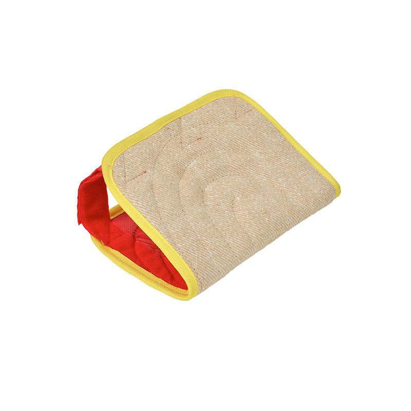 Fourreau en jute pour coussin de dressage protection de - Magasin de mousse pour coussin ...